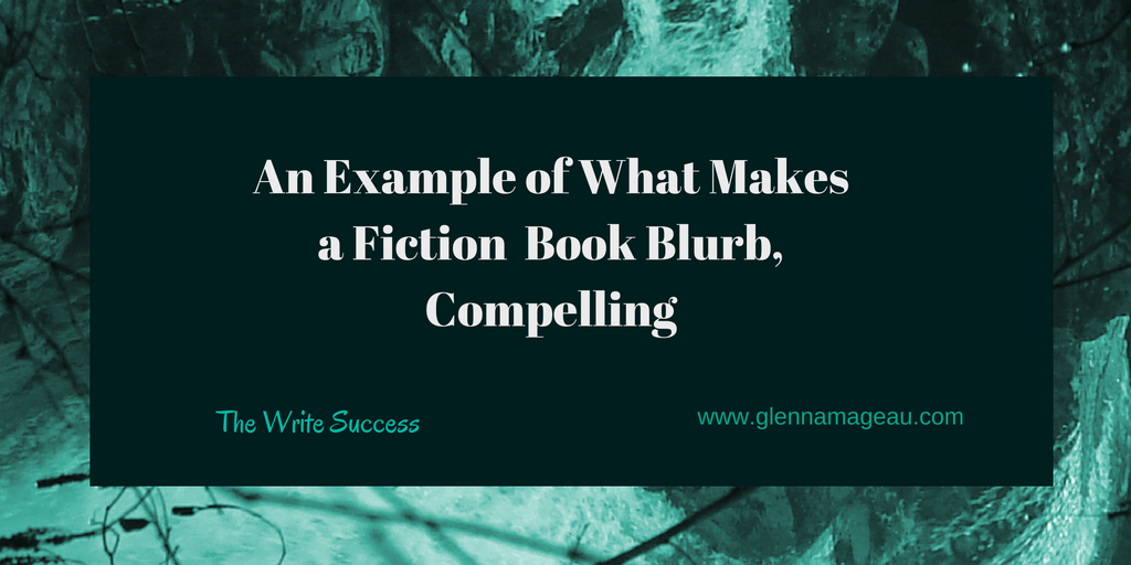 an example of what makes a fiction book blurb compelling