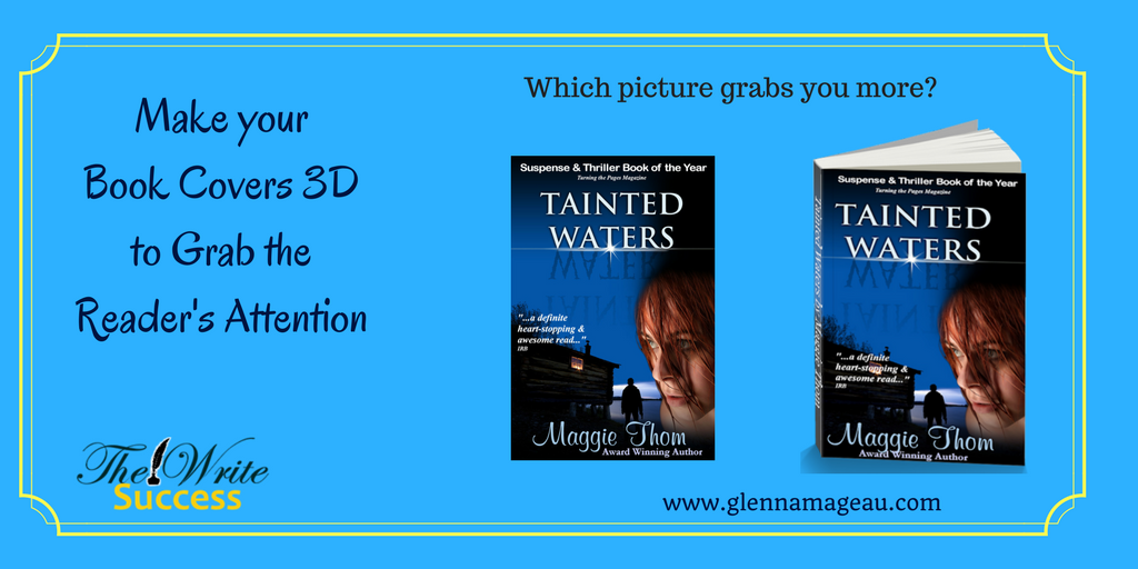 How To Make A Book Cover Look D ~ Make your book covers d to grab attention glenna mageau
